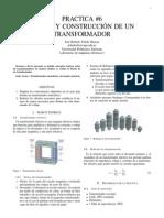 Diseño de un transformador