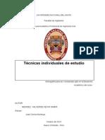 Monografia Técnicas Individuales de Estudio
