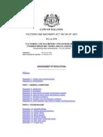 Arrangement of Regulations