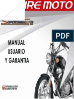 Manual de Usuario Supershadow 250 2021