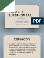 Etica Del Superhombre