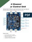 158_4ChannelDCMotorControllerManual