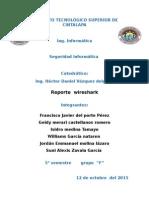 Reporte de Wireshark Equipo 3