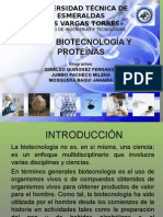 Biotecnologia y Proteinas