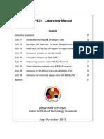 Lab Manual 8085 Microprocessor