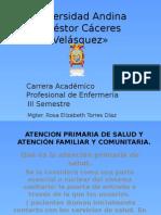 Tema 1 Atención Primaria de Salud y Atención Familiar y Comunitaria