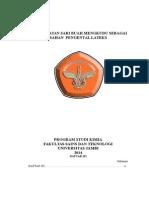 Pemanfaatan Sari Buah Mengkudu sebagai pengental lateks