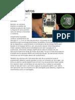 Acelerómetros Por el Dr. Jorge Hernandez