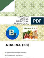 Vitaminas del Complejo B
