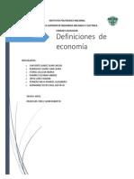 Conceptos de Economia