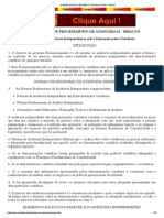 Norma de Procedimento de Auditoria - Npa 01