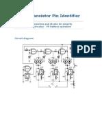 Identificador de Patillas Transistor