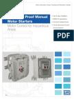 WEG Explosion Proof Manual Motor Starters Usaep11 Brochure English