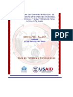 Colombia Curso Para Defensores Públicos
