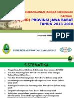 RPJMD Provinsi Jawa Barat Tahun 2013-2018