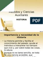 Métodos y Ciencias Auxiliares