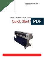 Quick Start Guide Xerox 7142