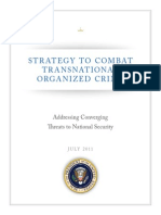 Strategy to Combat Transnational Organized Crime July 2011
