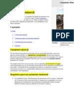 Yacimiento Mineral Conceptos Básicos 01