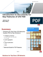 Introduction to Documents for Key Features of LTE FDD