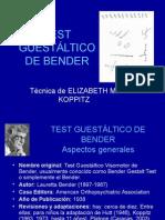 Test Bender Gestalt