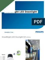SmartBright LED Downlight G3