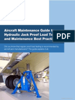 Aircraft Jack Proof Load Testing