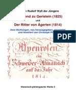 Wyss Johann Rudolf Der Abend Zu Geristein