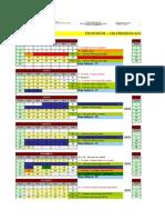 Quissamã - Calendário Acadêmico Completo