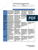 rubric pageone