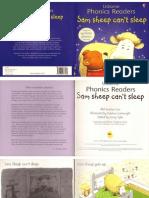Sam Sheep Can't Sleep (Usborne Phonics Books)
