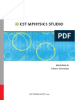 CST MPHYSICS STUDIO