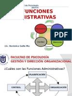 Las Funciones Administrativas