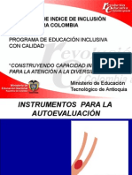 Pertinencia de Índice de Inclusión Para Colombia