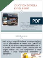 La Produccion Minera en El Peru