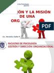 Visión y Misión de La Orgaización