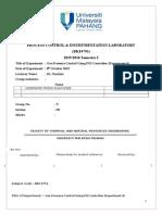process & instrumental control lab report