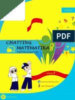 Buku Chatting Matematika 8 - SMP MTs Kelas 8 Semester 2