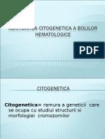 Abordarea Citogenetica a Bolilor Hematologice