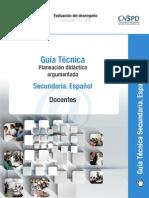 4 Guia Tecnica Planeacion Didactica Argu Espanol