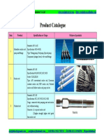 Tianjin Soright Technology Product Catalogue