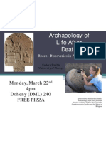 4pm Archaeology of Death