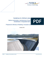 Guidelines for Artificial Lakes