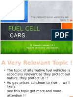 fuel cars based on cell technology