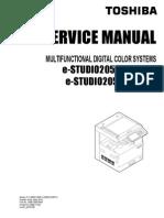 Toshiba 2550 service manual