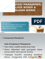 Kompensasi manajemen