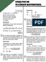 Problemas de Pensamiento Logico Matematico 2