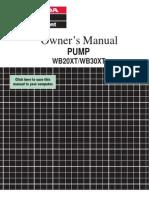 Uputstvo Za Pumpu