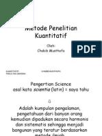 Metode Penelitian Kuantitatif PDF