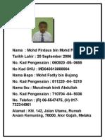 Biodata Murid 2014